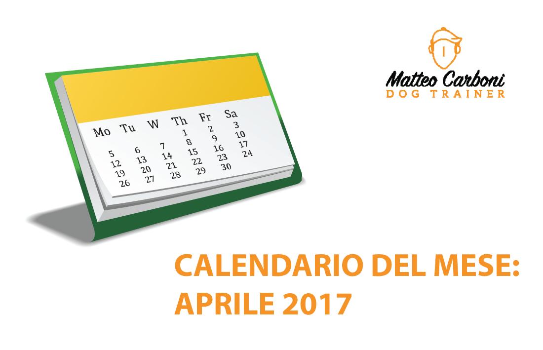 Fiera Erba Calendario.Aprile 2017 Calendario Eventi Matteo Carboni